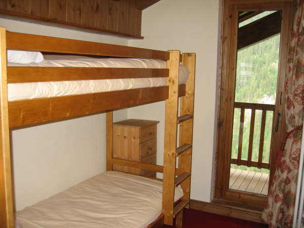 The bunk bedroom - click to enlarge